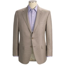 Hickey Freeman Mini-Check Sport Coat - Wool-Silk (For Men)