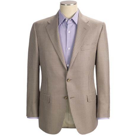 Hickey Freeman Mini-Check Sport Coat - Wool-Silk (For Men)