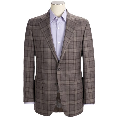 Hickey Freeman Tonal Windowpane Sport Coat - Worsted Wool (For Men)