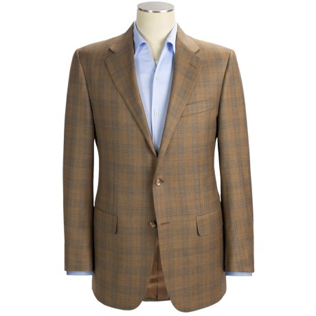 Hickey Freeman Subtle Plaid Sport Coat - Worsted Wool (For Men)