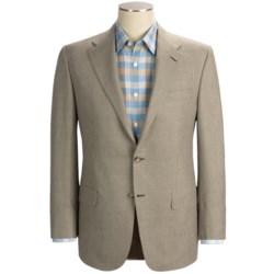 Hickey Freeman Houndstooth Sport Coat - Linen-Wool (For Men)