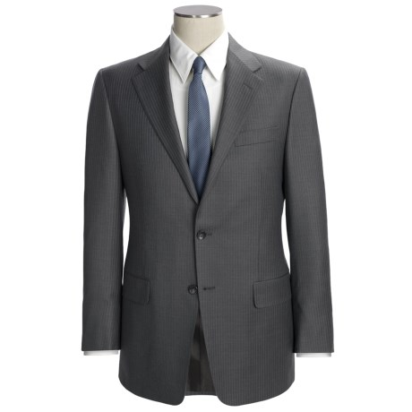 Hickey Freeman Subtle Beaded Stripe Suit - Worsted Wool (For Men)