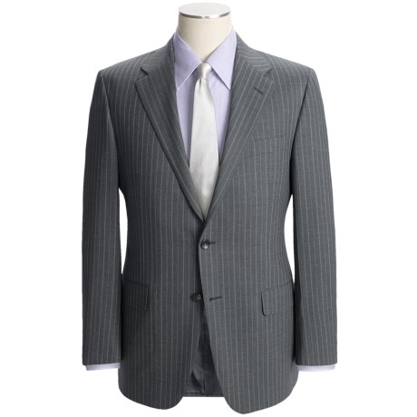 Hickey Freeman Track Stripe Suit - Worsted Wool (For Men)