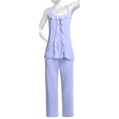 Oscar de la Renta Pink Label Luxe Knit Pajamas - Sleeveless (For Women)