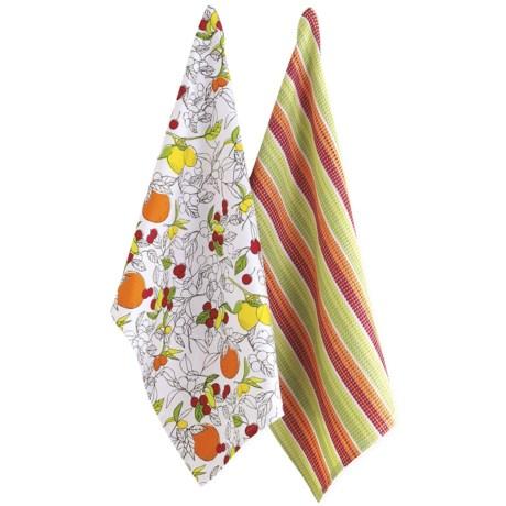 Tag Citrus Kitchen Dish Towels - Set of 2