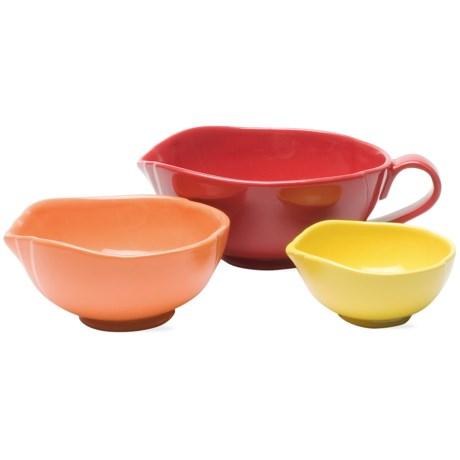 Tag Citrus Kitchen Mix and Pour Bowl Set - Set of 3