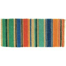 Tag Summer Stripe Estate Entry Mat - Coir