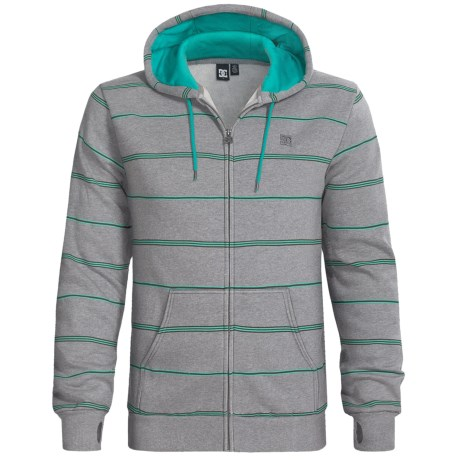 DC Shoes Mark Stripe Hoodie Sweatshirt - Fleece (For Men)