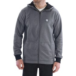 DC Shoes Tech Texture Hoodie Sweatshirt - Water Repellent, Fleece Lined (For Men)