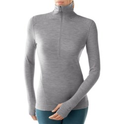 SmartWool NTS Funnel Zip Base Layer Top - UPF 50+, Zip Neck, Midweight (For Women)