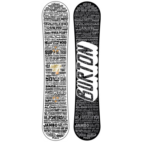 Burton Bullet Snowboard - Wide