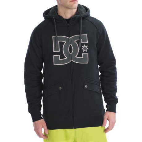 DC Shoes Maxmillions Hoodie Sweatshirt - Zip (For Men)