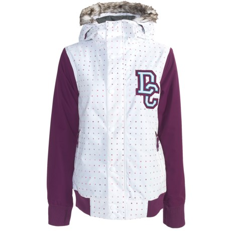 DC Shoes Squad Jacket - Insulated, Removable Faux-Fur Trim (For Women)