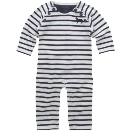 Hatley Blue Labs Coveralls - Heavy Cotton Knit (For Infants)