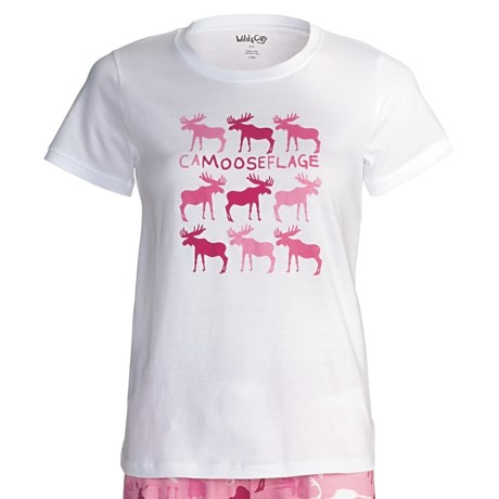Wild & Cozy by Hatley Cotton Jersey T-Shirt - Short Sleeve (For Women)