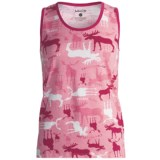 Wild & Cozy by Hatley Cotton Jersey Tank Top (For Women)