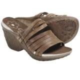 Cushe Weave Sandals - Leather, Wedge Heel (For Women)