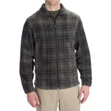 Woolrich Andes Fleece Plaid Jacket (For Men)