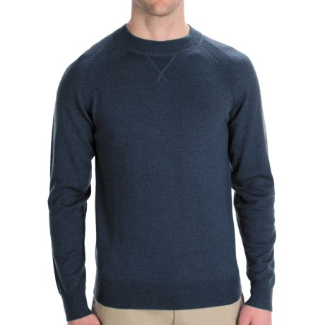 Woolrich Moccasin Run Sweater - Merino Wool, Crew Neck (For Men)