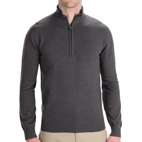 Woolrich Departure Sweater - Zip Neck, Long Sleeve (For Men)
