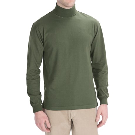Woolrich First Forks Cotton Turtleneck - Long Sleeve (For Men)