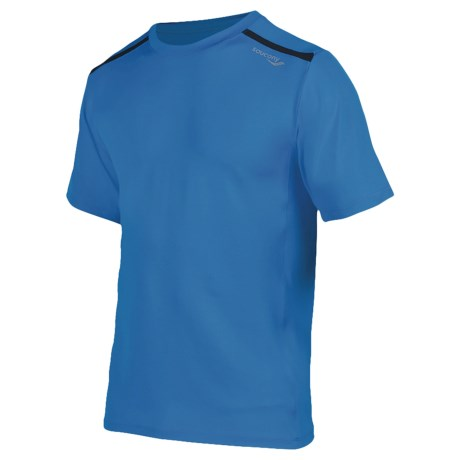Saucony Velocity Flex Shirt - UPF 50+, Short Sleeve (For Men)