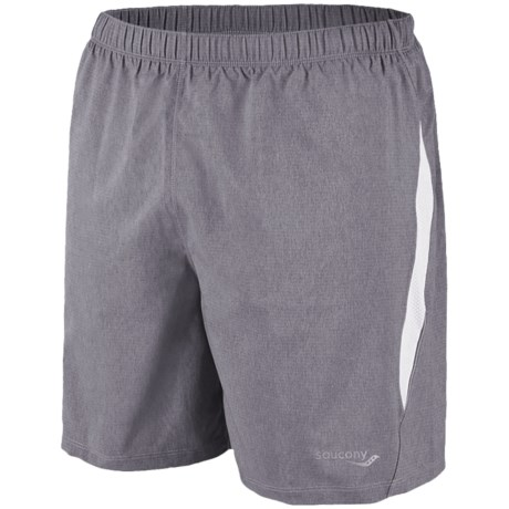 Saucony Run Lux II Shorts - Built-In Brief (For Men)