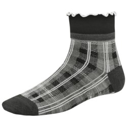 SmartWool Mad Plaid Socks - Merino Wool, Mini Crew (For Women)
