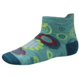 SmartWool Flower Power Socks - Merino Wool (For Girls)