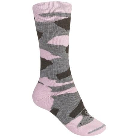 Lorpen Merino Wool Camo Hunting Socks - 2-Pack, Midweight, Crew (For Women)