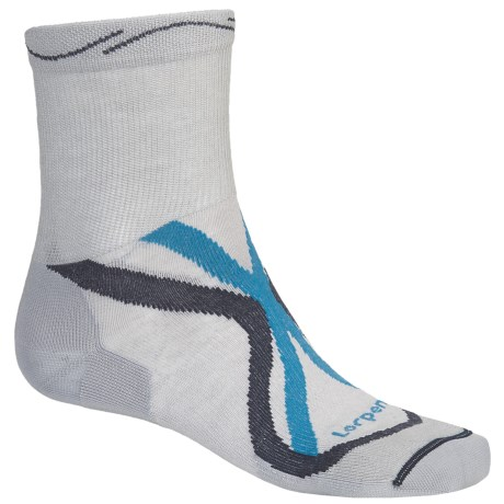 Lorpen Tri-Layer Ultralight Trail Running Socks - 2-Pack, TENCEL®-CoolMax® (For Men and Women)