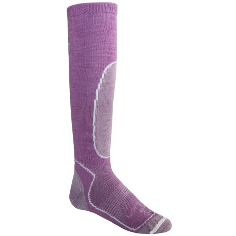 Lorpen Ski-Snowboard Lightweight Socks - 2-Pack, Merino Wool, Over-the-Calf (For Kids and Youth)