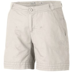 Mountain Hardwear Sandhills Shorts - Organic Cotton-Hemp (For Women)