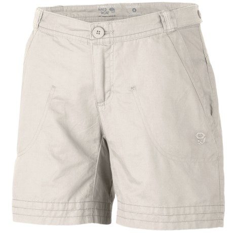 Mountain Hardwear Sandhills Shorts - Organic Cotton-Hemp (For Women)