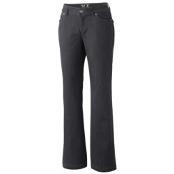 Mountain Hardwear LaCarta Pants - Stretch Cotton Twill (For Women)