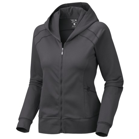 Mountain Hardwear Roga Butter Hoodie Sweatshirt - UPF 50, Full Zip (For Women)