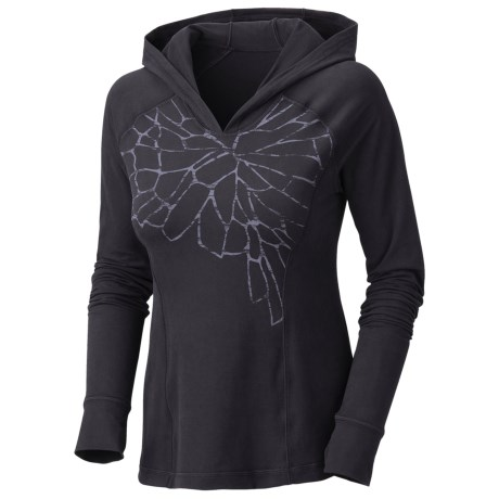 Mountain Hardwear Whipped Butter Hoodie - UPF 50, Long Sleeve (For Women)