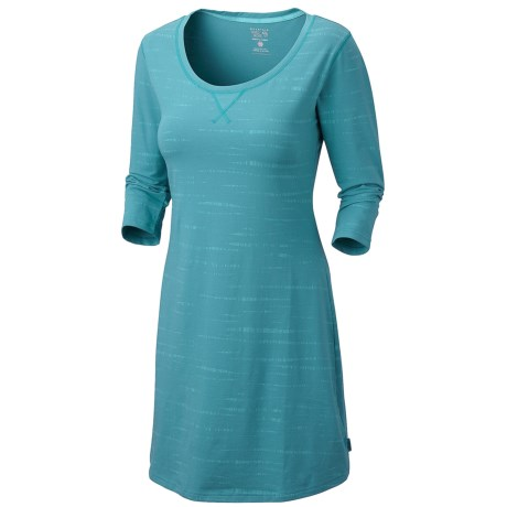 Mountain Hardwear Tonganessa Dress - Scoop Neck, 3/4 Sleeve (For Women)