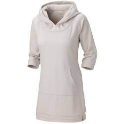 Mountain Hardwear Lampira Tunic Dress - Hooded, 3/4 Sleeve (For Women)