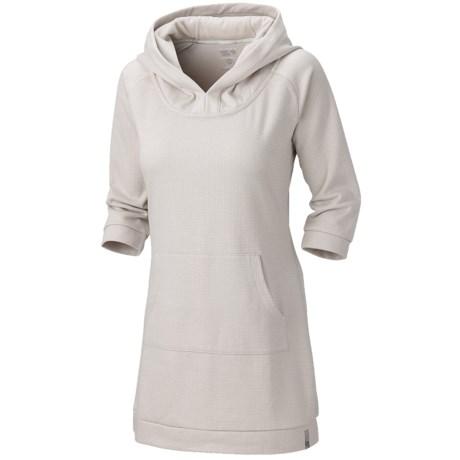 Mountain Hardwear Lampira Tunic Dress - Hooded, 3/4 Sleeve (For Women)