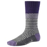 SmartWool Popcorn Cable Socks - Merino Wool (For Women)
