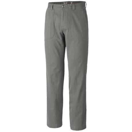 Mountain Hardwear Loafer Pants - Wrinkle Resistant, UPF 50 (For Men)