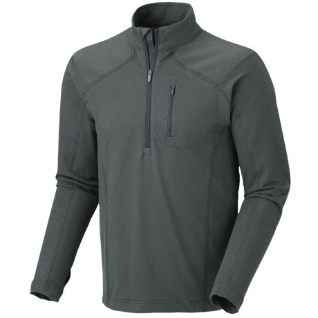 Mountain Hardwear Cragger Shirt - UPF 30, Zip Neck, Long Sleeve (For Men)