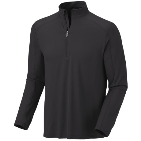 Mountain Hardwear Butterman Shirt - UPF 50, Zip Neck, Long Sleeve (For Men)