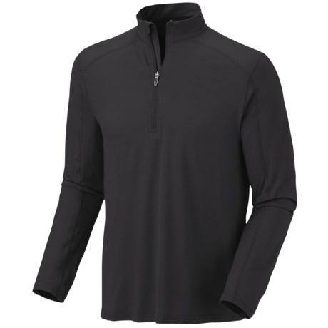 Mountain Hardwear Butterman Shirt - UPF 50, Zip Neck, Long Sleeve (For Men)