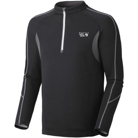 Mountain Hardwear Elmoro Shirt - UPF 25, Zip Neck, Long Sleeve (For Men)
