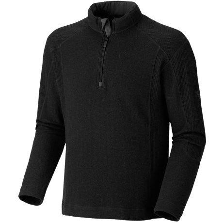 Mountain Hardwear Mazeno Peak Sweater - Zip Neck, Recycled Wool (For Men)