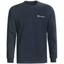Champion Logo T-Shirt - Long Sleeve (For Men)