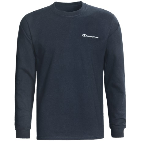 Champion Logo T-Shirt - Long Sleeve (For Men)
