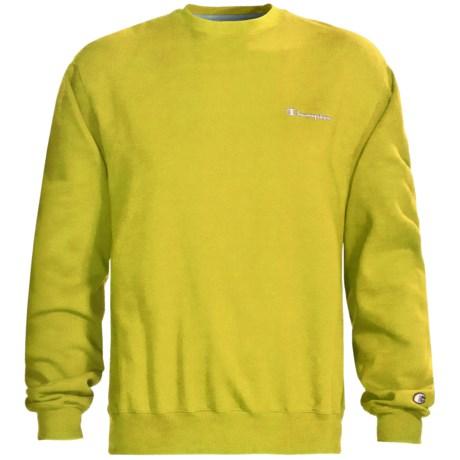 Champion Logo Sweatshirt - Long Sleeve (For Men)
